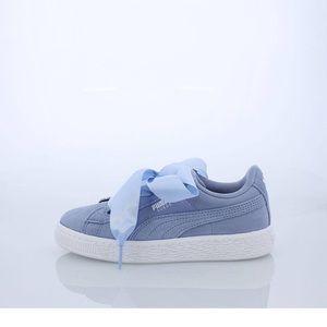 Puma light blue woman's shoes